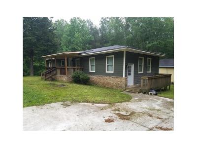 Single Family Home For Sale: 310 Old Highway 138