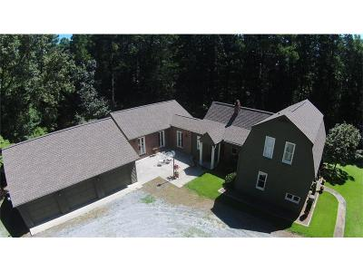 Marietta Single Family Home For Sale: 3450 Burnt Hickory Road NW