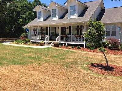 Braselton Single Family Home For Sale: 1343 New Cut Road