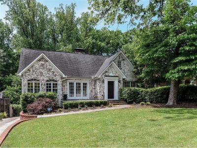 Atlanta Single Family Home For Sale: 933 E Rock Springs Road NE