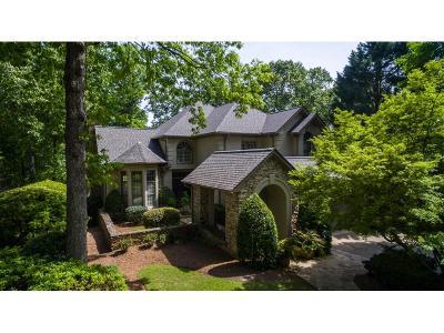 Alpharetta Single Family Home For Sale: 4205 Fairway Villas Drive