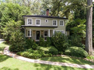 Single Family Home For Sale: 503 Collier Road NW