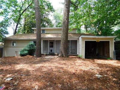 Brookhaven Single Family Home For Sale: 1587 Briarwood Road NE