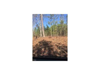 Douglas County Residential Lots & Land For Sale: West Carroll Road