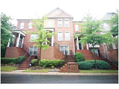 Brookhaven Condo/Townhouse For Sale: 2317 Limehurst Drive NE