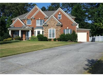 Lilburn Single Family Home For Sale: 1263 Silver Trace Drive SW
