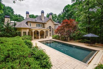 Alpharetta GA Single Family Home For Sale: $1,495,000