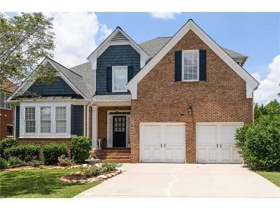 Alpharetta Single Family Home For Sale: 12827 Waterside Drive