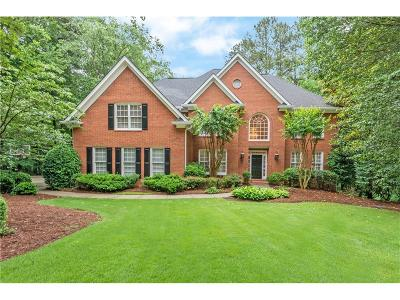 Kennesaw Single Family Home For Sale: 4710 Talleybrook Drive NW