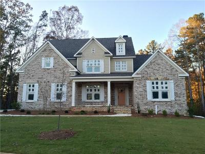 Kennesaw Single Family Home For Sale: 1387 Sutters Pond Drive NW