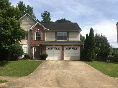 Lawrenceville Single Family Home For Sale: 3312 Grove Meadows Cove