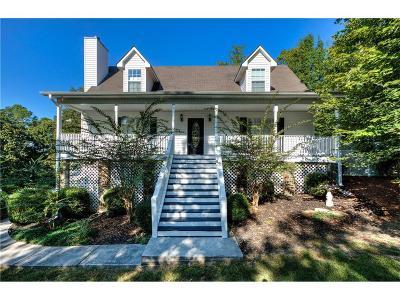 White Single Family Home For Sale: 23 Holly Springs Road NE