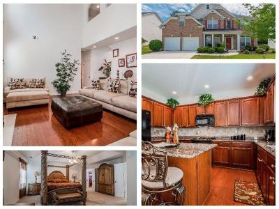 Lawrenceville Single Family Home For Sale: 1329 Station Ridge Drive