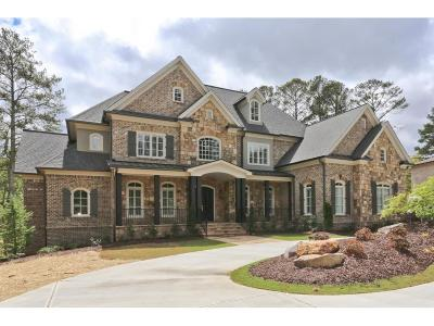 Alpharetta GA Single Family Home For Sale: $1,999,900