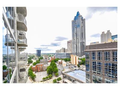 Condo/Townhouse For Sale: 400 W Peachtree Street NW #1706