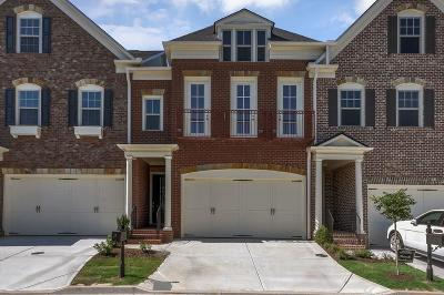 Alpharetta Condo/Townhouse For Sale: 633 Landler Terrace #42