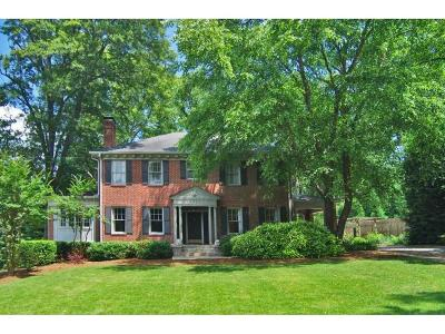Druid Hills Single Family Home For Sale: 1323 Briarcliff Road NE