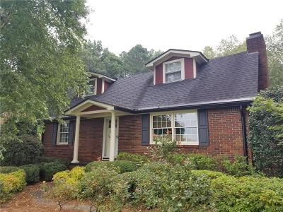 Gordon County Single Family Home For Sale: 160 Wrights Hollow Road SE