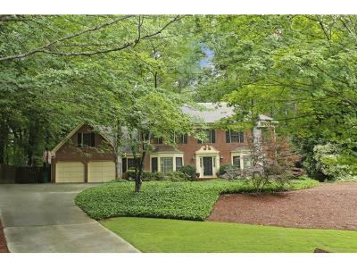 Sandy Springs Single Family Home For Sale: 415 Spindle Court