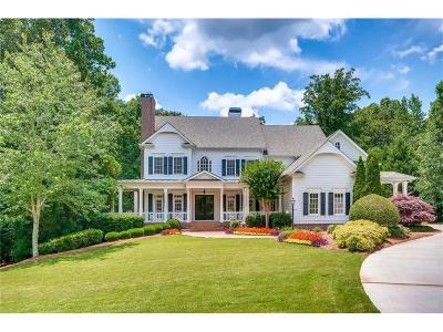 Milton  Single Family Home For Sale: 870 Foxhollow Run