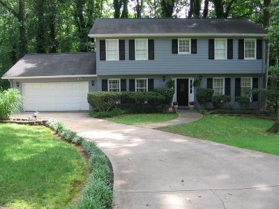 Dunwoody Single Family Home For Sale: 4421 Dunhaven Road
