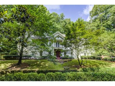 Tuxedo Park, Tuxedo Park Buckhead Single Family Home For Sale: 202 Valley Road