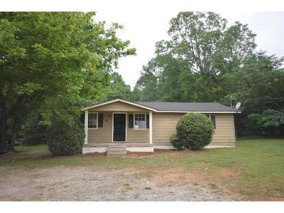 Newnan Single Family Home For Sale: 117 Belk Road