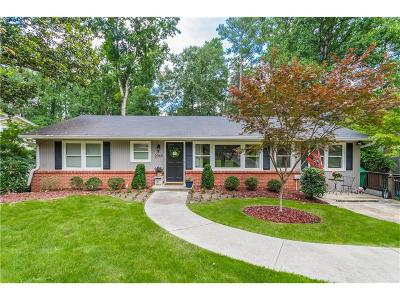 Brookhaven Single Family Home For Sale: 2069 Fairway Circle NE