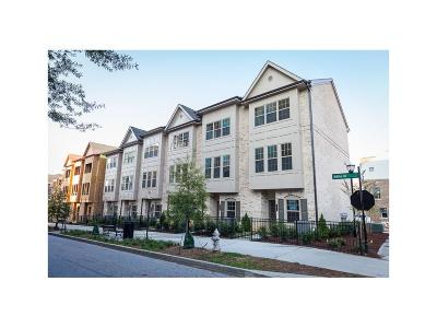 Fulton County Condo/Townhouse For Sale: 627 Broadview Place NE