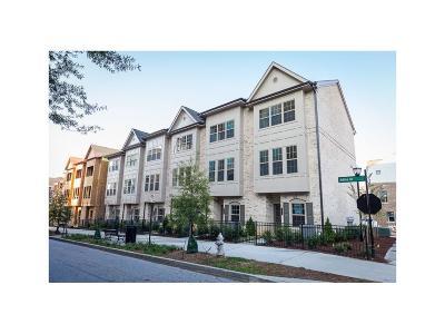 Atlanta Condo/Townhouse For Sale: 627 Broadview Place NE