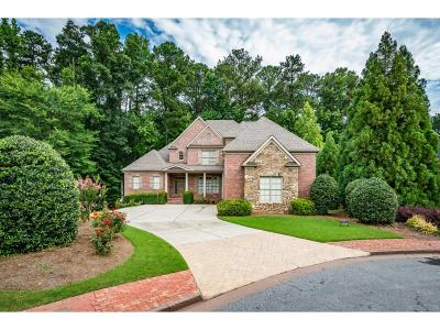 Kennesaw Single Family Home For Sale: 2141 Kensington Gates Drive