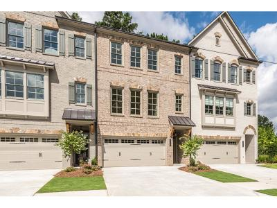 Brookhaven Condo/Townhouse For Sale: 2534 Skyland Drive #7