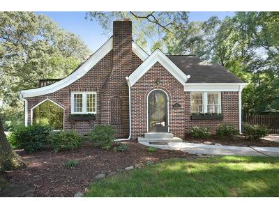 Single Family Home For Sale: 657 Wilson Road NW