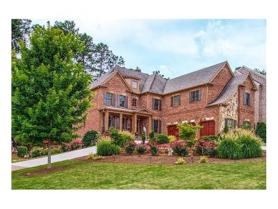 Kennesaw Single Family Home For Sale: 1145 Hamilton Estates Drive NW
