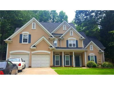 Kennesaw Single Family Home For Sale: 1372 Pembridge Trace