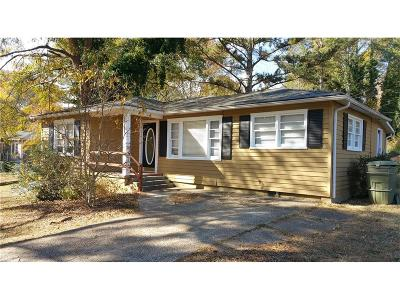 Mableton Single Family Home For Sale: 71 Cooper Lake Road SW
