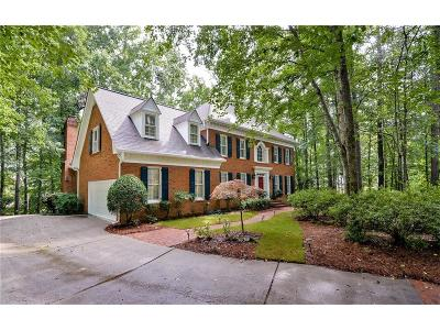 Johns Creek Single Family Home For Sale: 300 High Bridge Chase