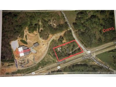 Acworth Residential Lots & Land For Sale: 5875 Alabama Highway