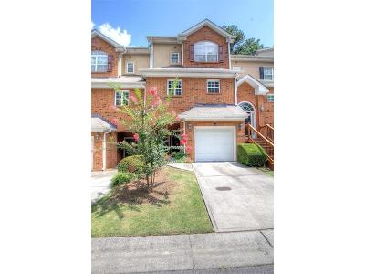 Dunwoody Condo/Townhouse For Sale: 1626 Chateau Club