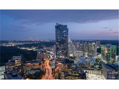 Sovereign Condo/Townhouse For Sale: 3344 Peachtree Road NE #3405