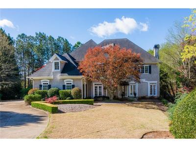 Johns Creek Single Family Home For Sale: 3370 River Ferry Drive