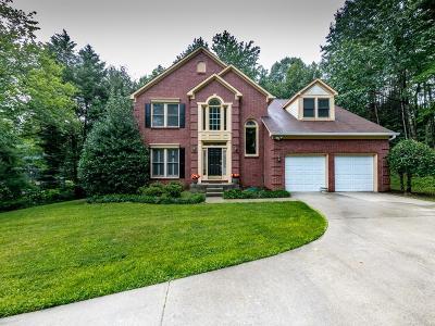 Kennesaw Single Family Home For Sale: 4154 Glenlake Terrace NW