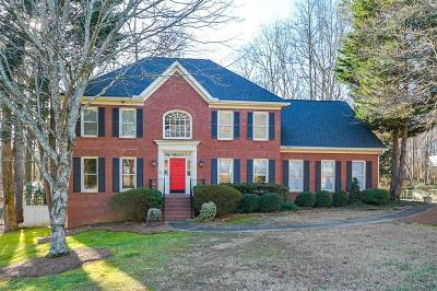 Lawrenceville Single Family Home For Sale: 1706 Crowes Lake Court