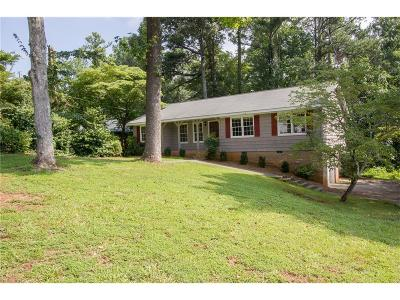 Marietta Single Family Home For Sale: 325 Windsor Drive SW