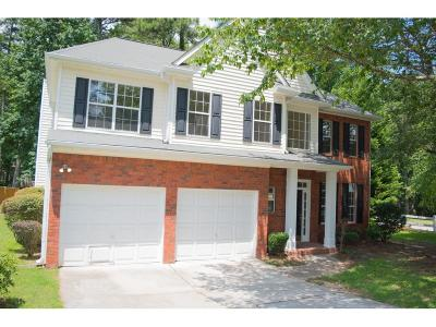 Fayetteville Single Family Home For Sale: 105 Parkside Drive