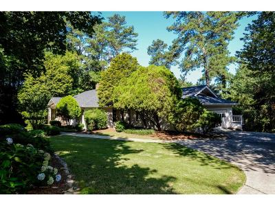 Sandy Springs Single Family Home For Sale: 1280 Spalding Drive