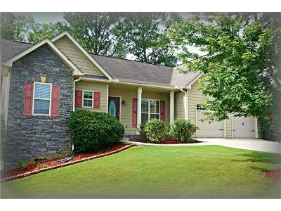 Cartersville Single Family Home For Sale: 21 Hamil Court NW