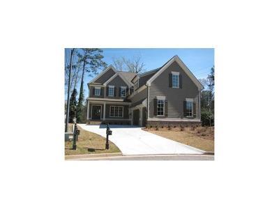 Smyrna Single Family Home For Sale: 1272 Kingsview Circle SE