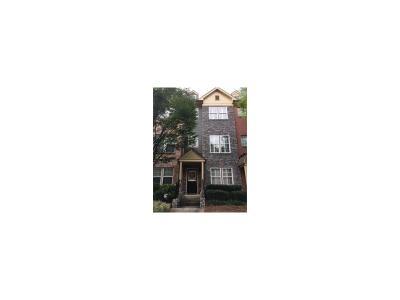 Brookhaven Condo/Townhouse For Sale: 1227 Ashford Creek Park NE