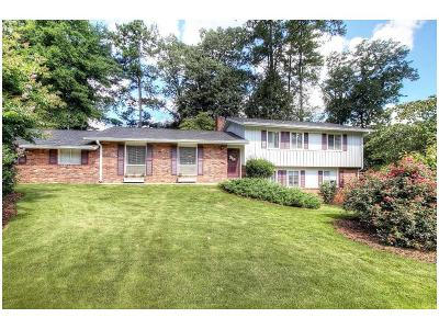 Sandy Springs Single Family Home For Sale: 6608 Cherry Tree Lane